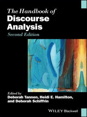 cover image of The Handbook of Discourse Analysis