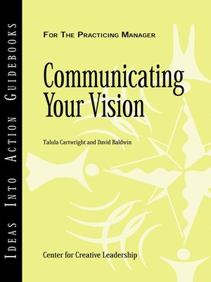 cover image of Communicating Your Vision