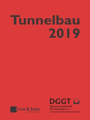 cover image of Taschenbuch für den Tunnelbau 2019