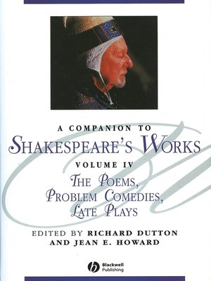 cover image of A Companion to Shakespeare's Works, Volume IV