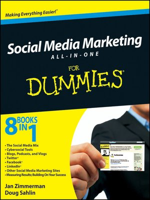 cover image of Social Media Marketing For Dummies