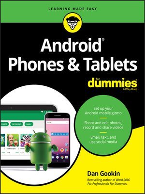 cover image of Android Phones & Tablets For Dummies