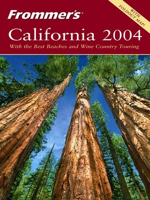 cover image of Frommer's California 2004