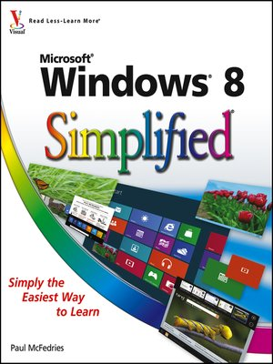 cover image of Windows 8 Simplified