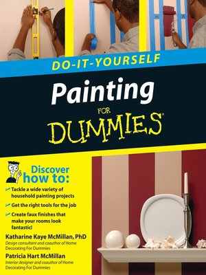 cover image of Painting Do-It-Yourself For Dummies