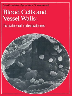 cover image of Blood Cells and Vessel Walls