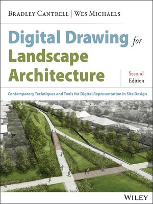 cover image of Digital Drawing for Landscape Architecture