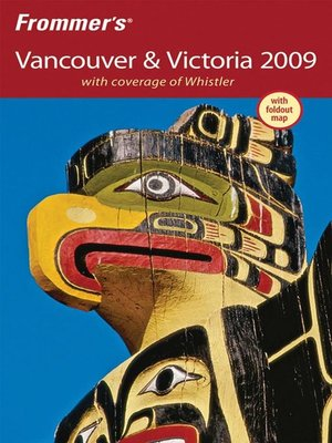 cover image of Frommer's Vancouver and Victoria 2009