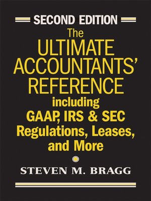 cover image of The Ultimate Accountants' Reference