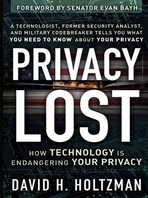 cover image of Privacy Lost
