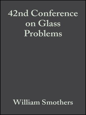cover image of 42nd Conference on Glass Problems
