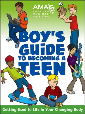 cover image of American Medical Association Boy's Guide to Becoming a Teen
