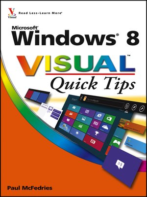 cover image of Windows 8 Visual Quick Tips