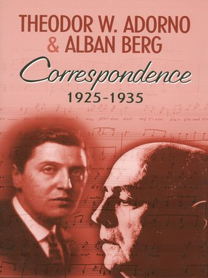 cover image of Correspondence 1925-1935