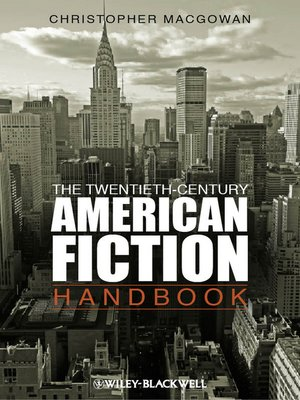 cover image of The Twentieth-Century American Fiction Handbook