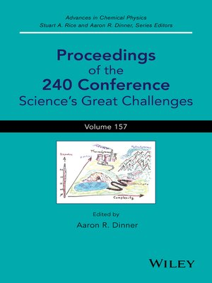 cover image of Advances in Chemical Physics, Proceedings of the 240 Conference