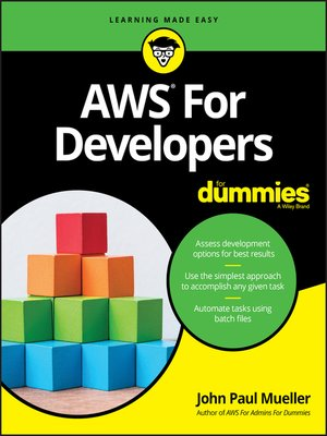 cover image of AWS for Developers For Dummies