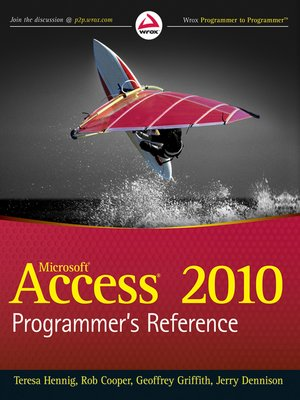 cover image of Access 2010 Programmer's Reference