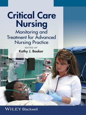cover image of Critical Care Nursing