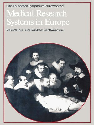 cover image of Medical Research Systems in Europe