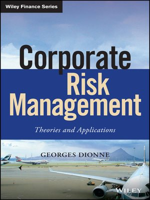cover image of Corporate Risk Management