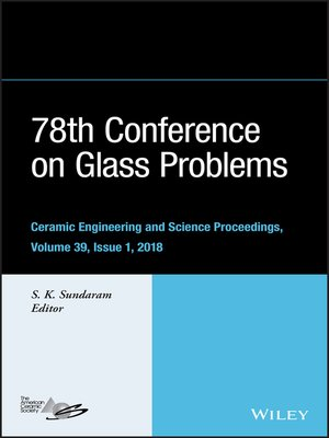 cover image of 78th Conference on Glass Problems