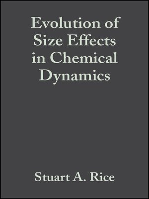 cover image of Evolution of Size Effects in Chemical Dynamics
