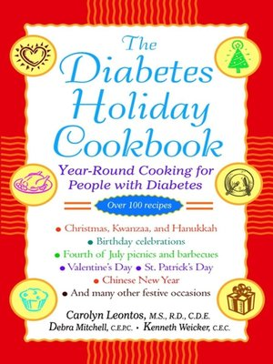 cover image of The Diabetes Holiday Cookbook