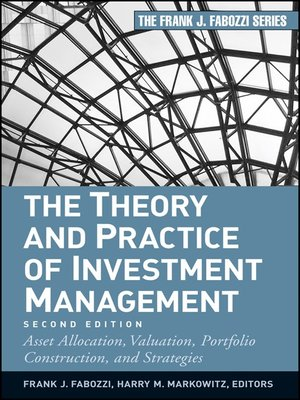 cover image of The Theory and Practice of Investment Management