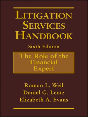 cover image of Litigation Services Handbook