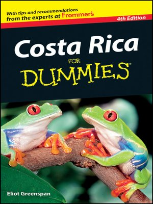 cover image of Costa Rica For Dummies