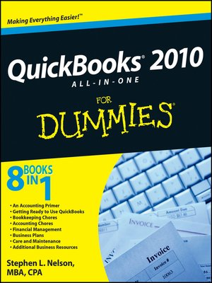 cover image of QuickBooks 2010 All-in-One For Dummies