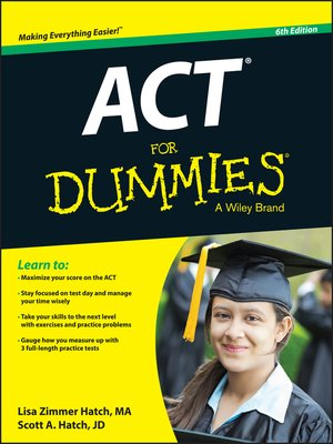 cover image of ACT For Dummies