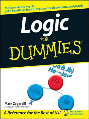 cover image of Logic For Dummies