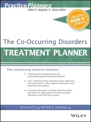 cover image of The Co-Occurring Disorders Treatment Planner, with DSM-5 Updates