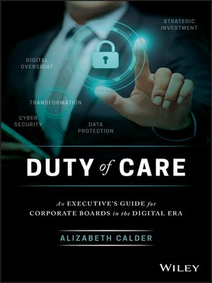 cover image of Duty of Care