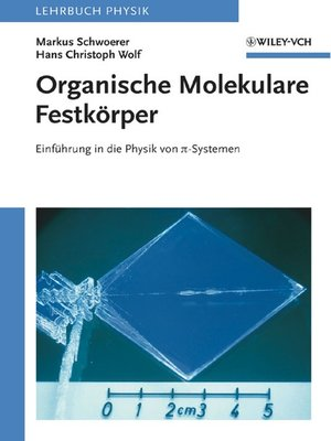cover image of Organische Molekulare Festkörper