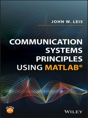 cover image of Communication Systems Principles Using MATLAB