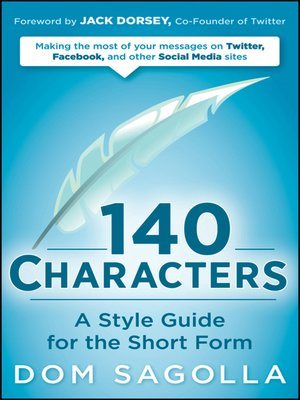 cover image of 140 Characters