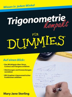 cover image of Trigonometrie kompakt fur Dummies