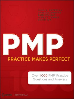 cover image of PMP Practice Makes Perfect