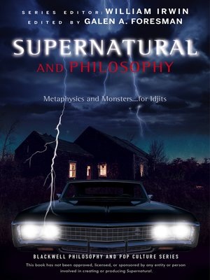 cover image of Supernatural and Philosophy