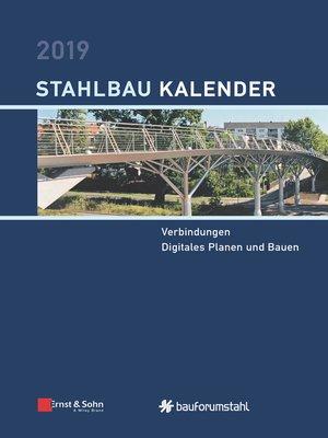 cover image of Stahlbau-Kalender 2019--Schwerpunkt