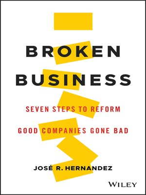 cover image of Broken Business