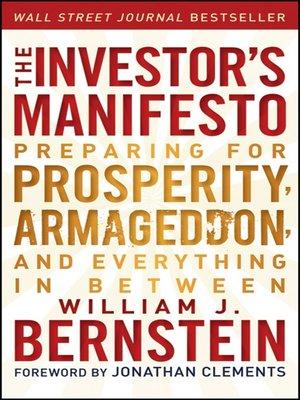 cover image of The Investor's Manifesto