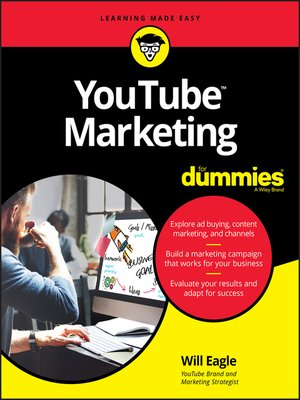 cover image of YouTube Marketing For Dummies