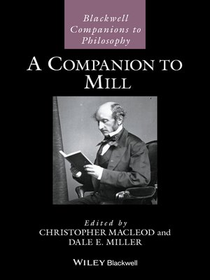 cover image of A Companion to Mill
