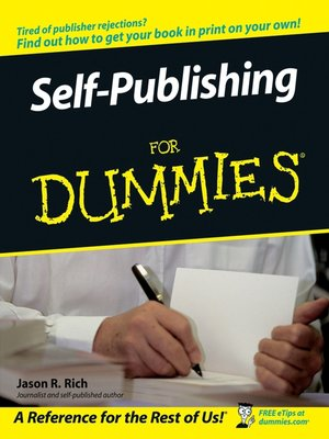 cover image of Self-Publishing For Dummies