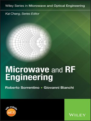 Microwave And Rf Engineering By Roberto