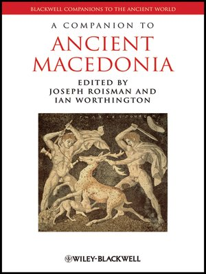 cover image of A Companion to Ancient Macedonia